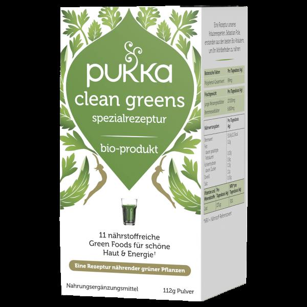 Bio Clean Greens Pulver