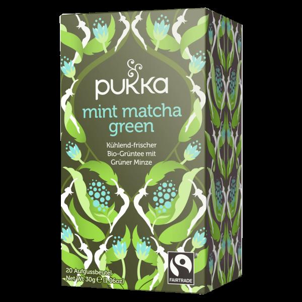 Pukka Bio Mint Matcha Green