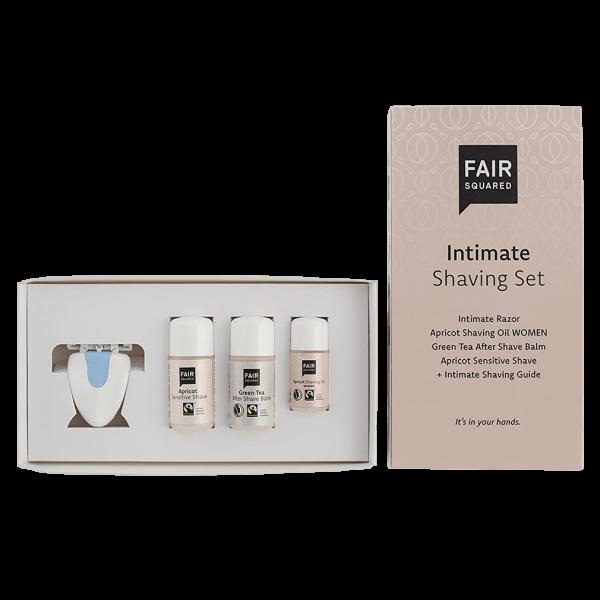 FAIR SQUARED Shaving Set Intimate