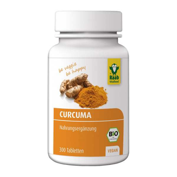 Bio Curcuma Tabletten