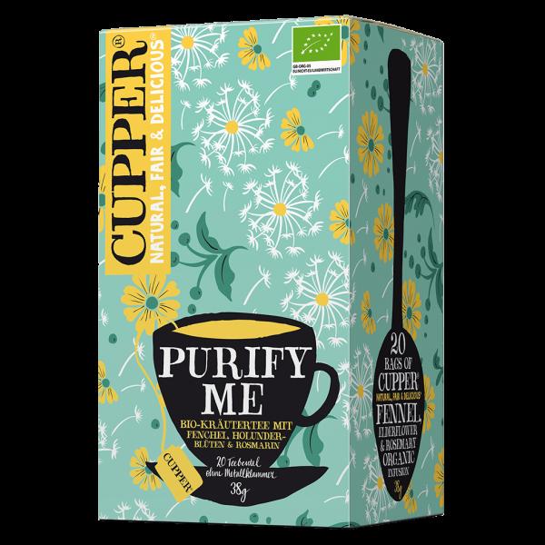 Cupper Bio Purify Me Tee, 38g