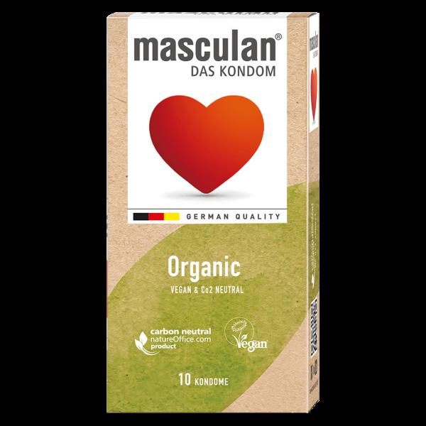 Masculan Organic Kondom 10er Packung