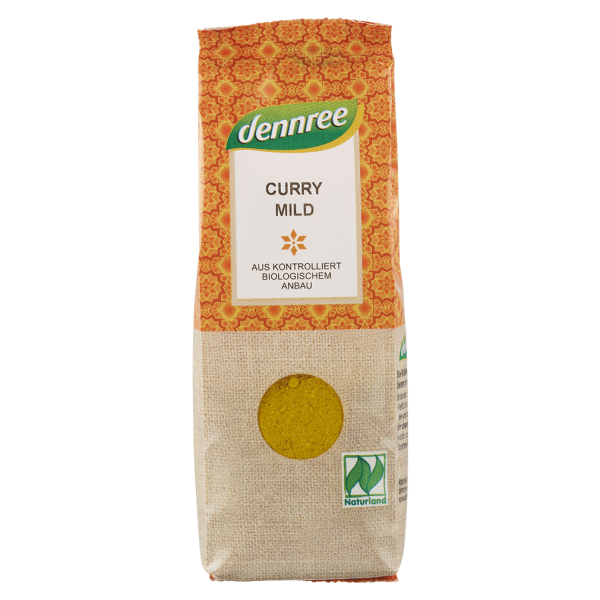 dennree Bio Curry mild, 55g