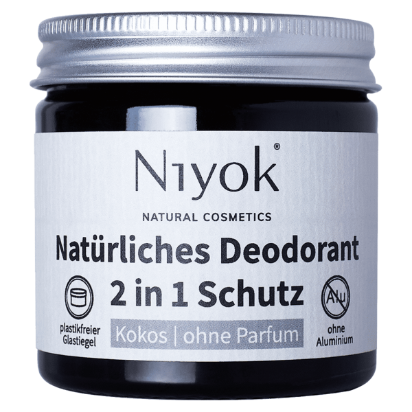 Niyok Deodorant Kokos ohne Parfüm
