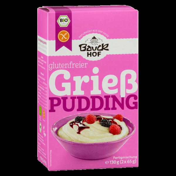 Bauckhof  Bio Grießpudding