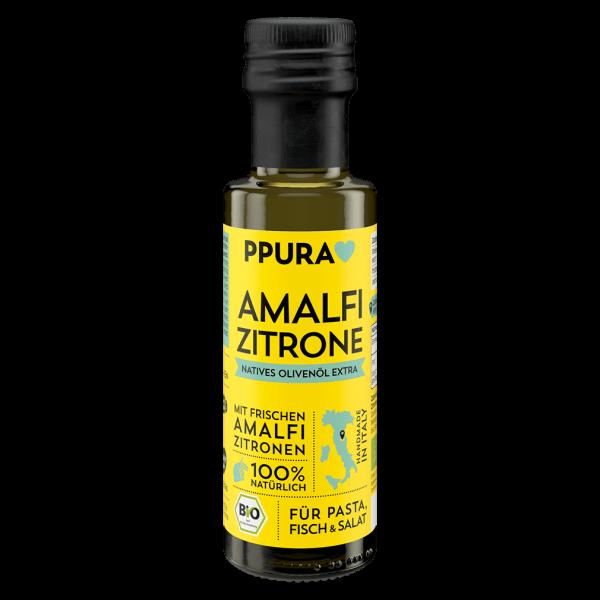 PPura Bio Olivenöl mit Amalfi Zitronen