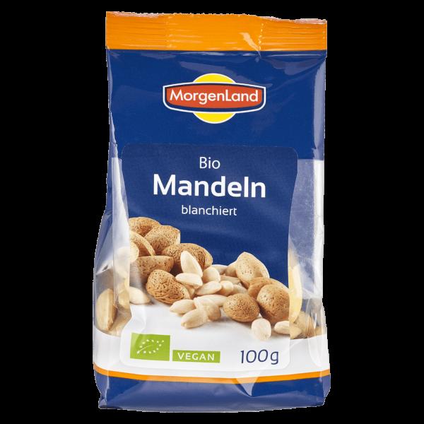 MorgenLand Bio Mandeln blanchiert