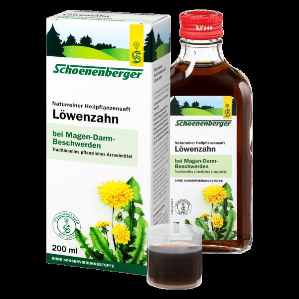 Schoenenberger Löwenzahn-Heilpflanzensaft