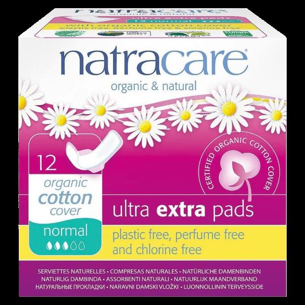 Natracare Ultra Extra Damenbinde Normal