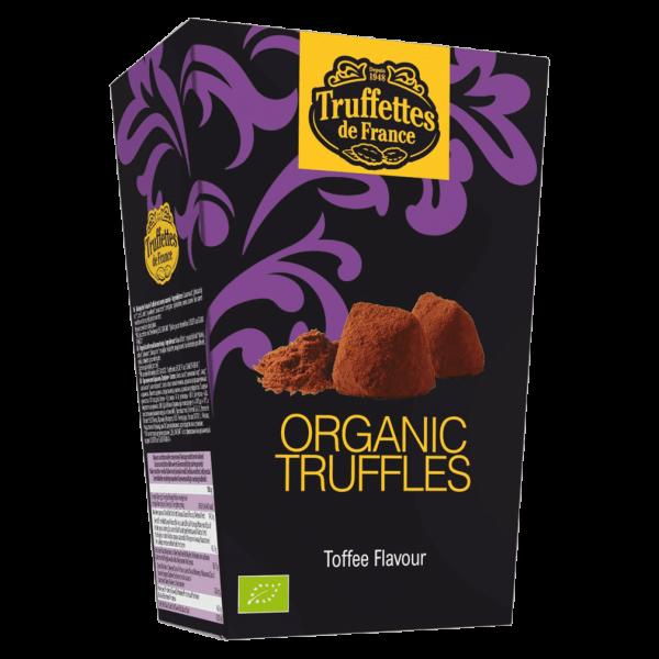 Truffettes de France Bio Toffee Trüffel