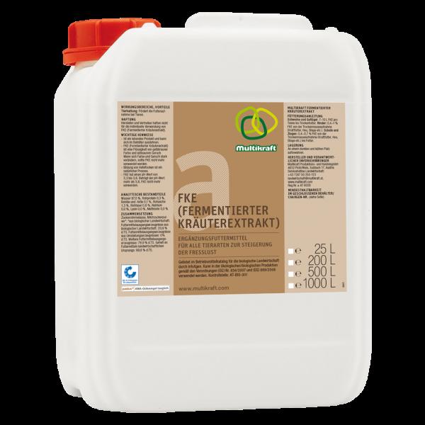 Multikraft FKE (Fermentierter Kräuterextrakt), 25 L