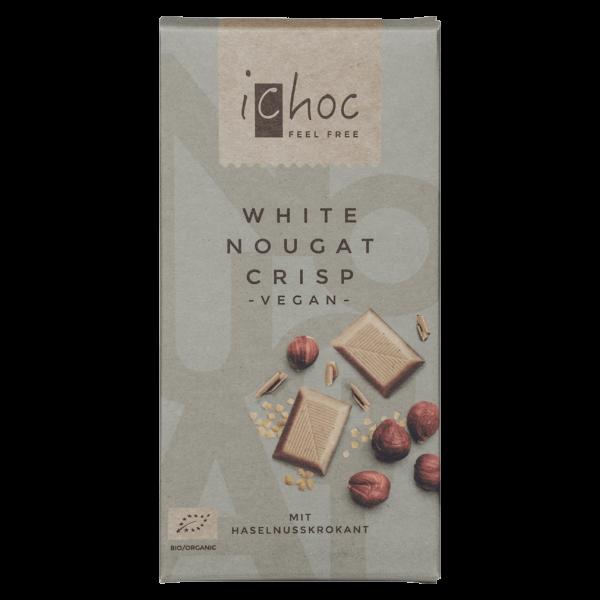 iChoc Bio White Nougat Crisp