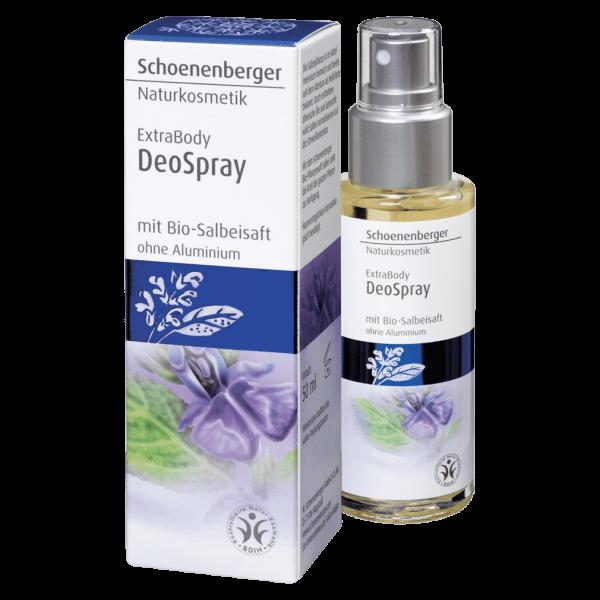 Schoenenberger Deo Spray mit Bio-Salbeisaft