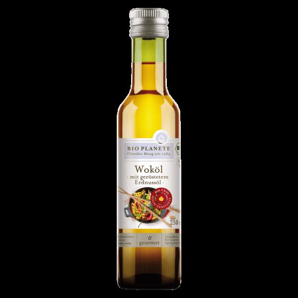 Bio Planète Bio Woköl mit geröstetem Erdnussöl