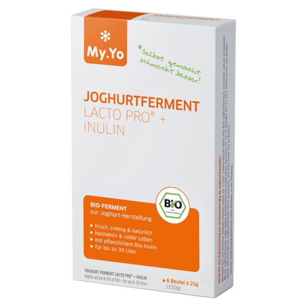 MyYo Bio Joghurtferment Lacto Pro® + Inulin