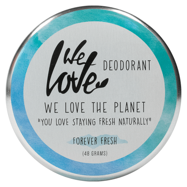 We Love The Planet Deocreme Forever Fresh 48g