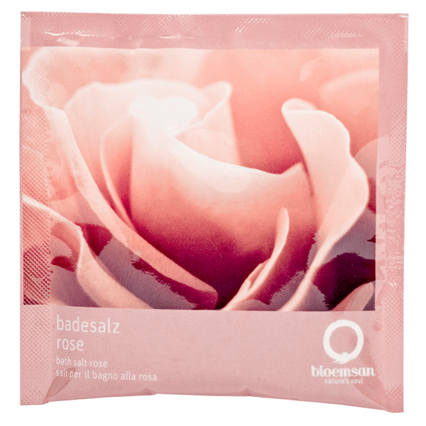bioemsan Badesalz Rose, 30g Sachet