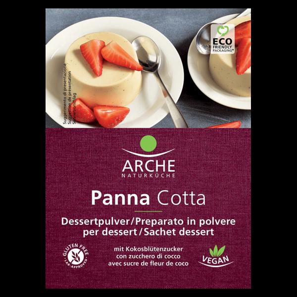 Arche Naturküche Bio Panna Cotta