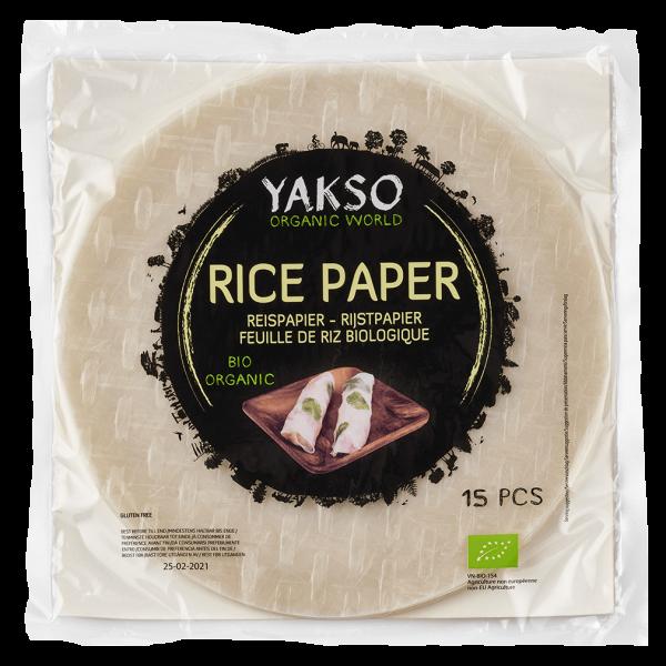 Yakso Bio Reispapier