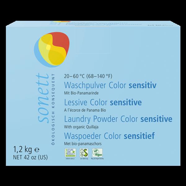 Sonett Waschpulver Color sensitiv, 1,2 kg