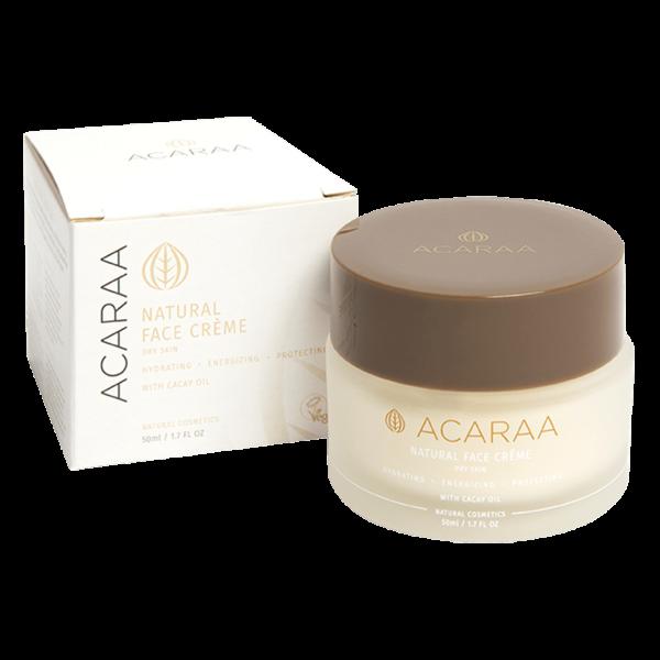 ACARAA Gesichtscreme für sensible trockene Haut
