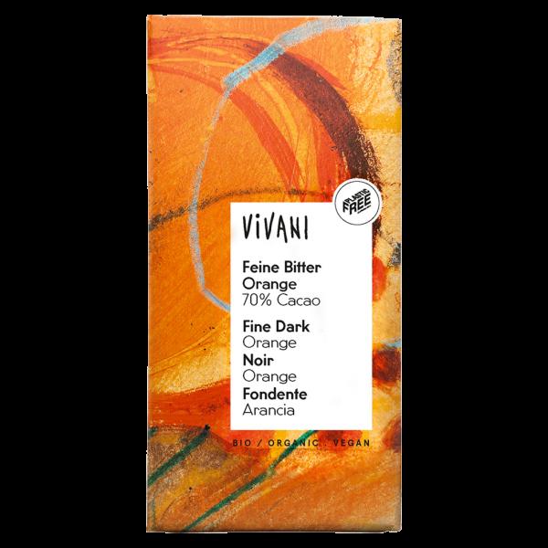Vivani Bio Feine Bitter Orange Schokolade