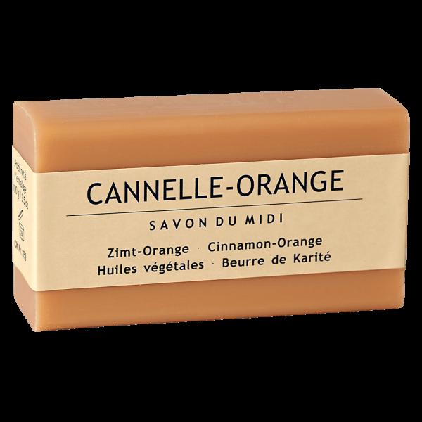 Savon Du Midi Seife mit Karité-Butter Zimt Orange 100g