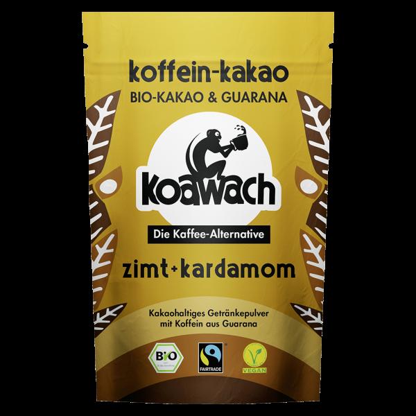 koawach Bio Trinkschokolade Zimt + Kardamom