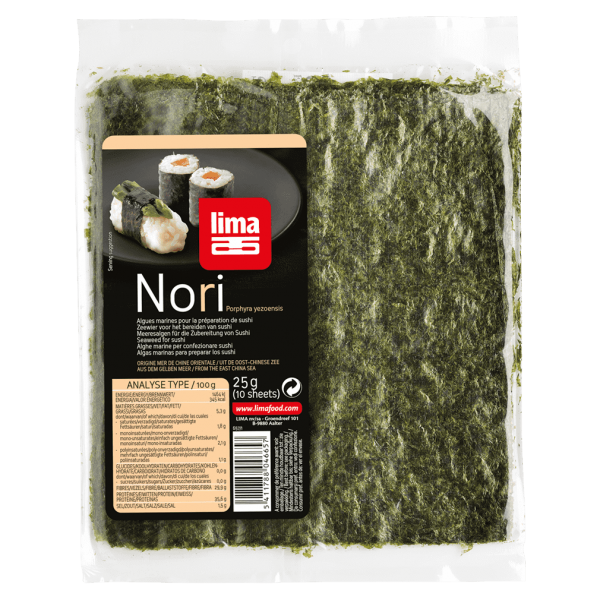 Lima Bio Nori Meeresalgen-Blätter