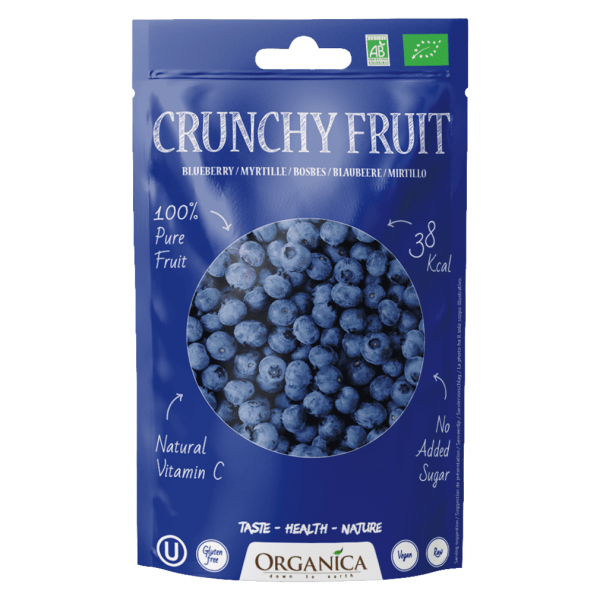 Organica Bio Crunchy Fruit, Blaubeeren