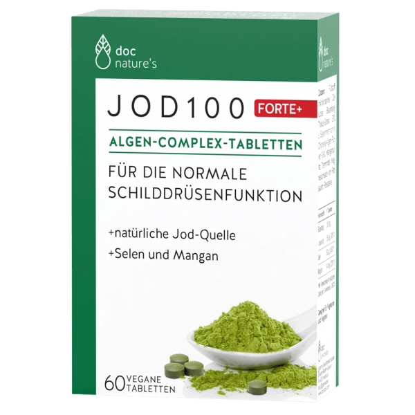 Doc Nature's Jod 100 Algen-Tabletten