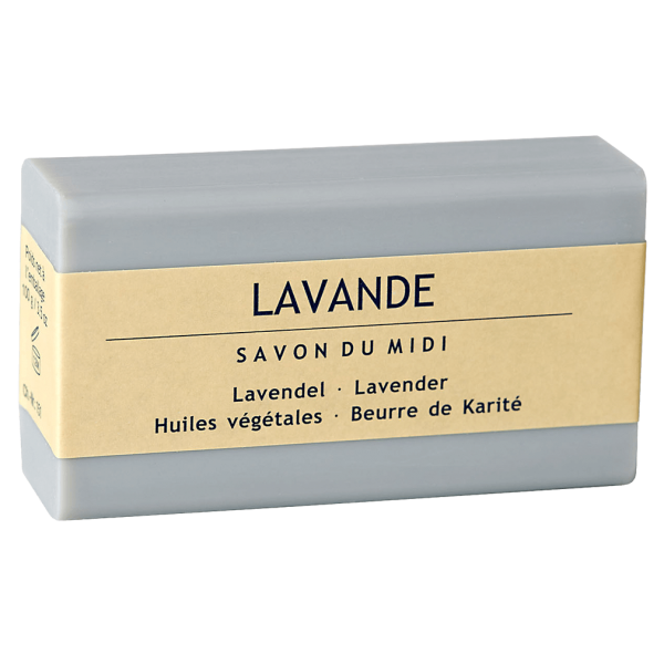 Savon Du Midi Seife mit Karité-Butter Lavendel, 100g