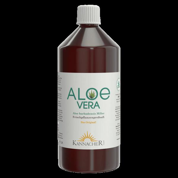 Kannacher Aloe Vera Frischpflanzensaft