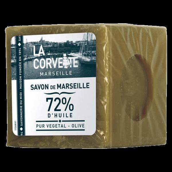 La Corvette Savon de Marseille Olive Block, 500g