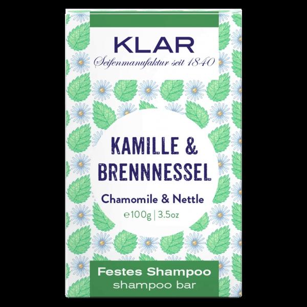 Klar Seifen Festes Shampoo Kamille & Brennnessel