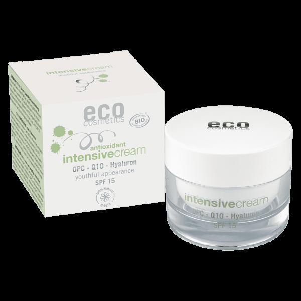 Eco Cosmetics Intensivecream Q10 & Hyaluron LSF15