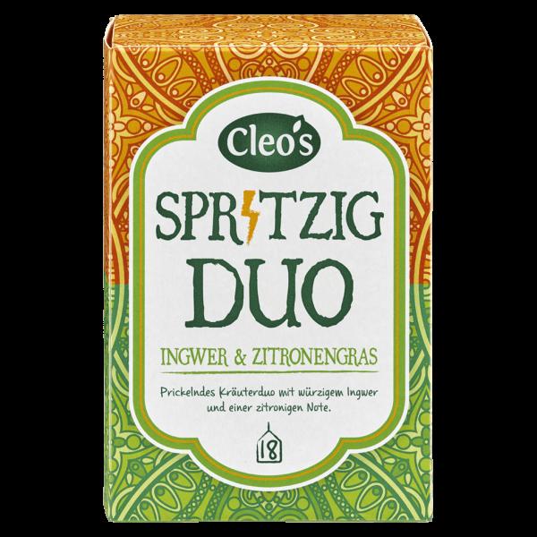 Cleo's Bio Spritzig Duo Tee
