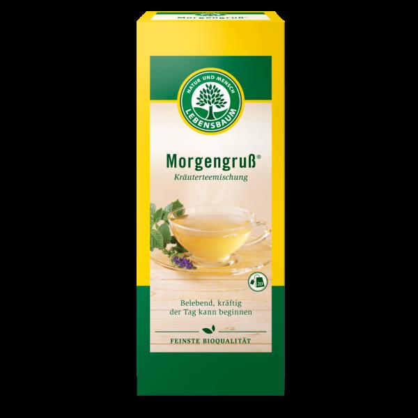 Lebensbaum Bio Morgengruß Tee, 20Btl.