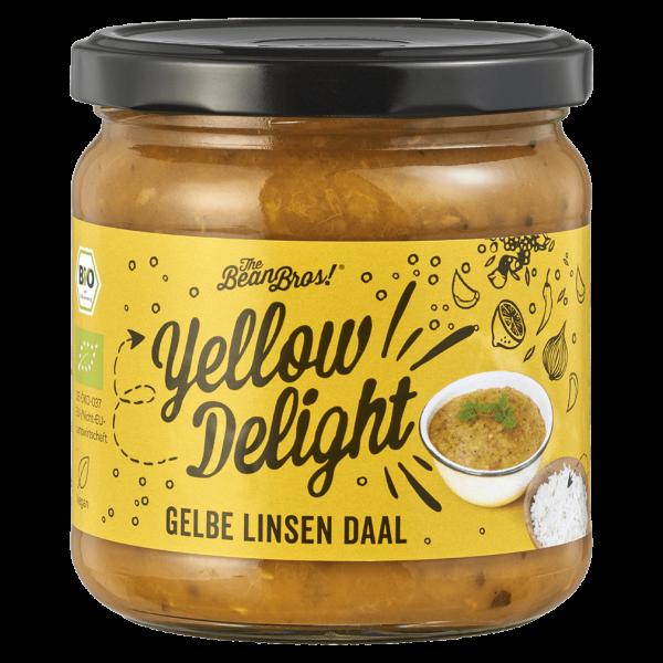 The Bean Bros! Bio Yellow Delight - Gelbe Linsen Daal