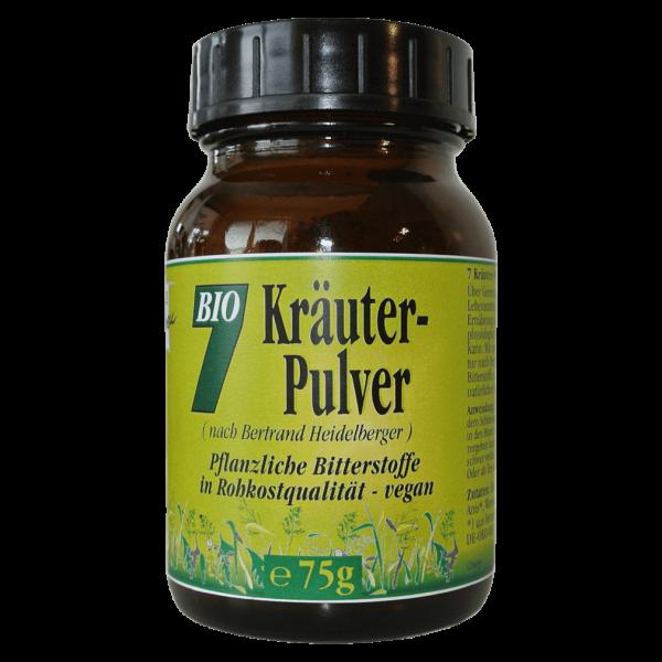 Gesund & Leben Bio 7 Kräuter-Pulver, 75g