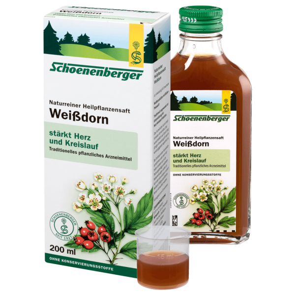 Schoenenberger Weißdorn-Heilpflanzensaft