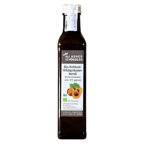 Bio Aprikosenkernöl
