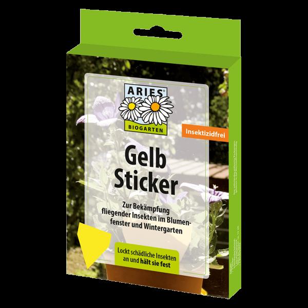 Aries Gelb Sticker