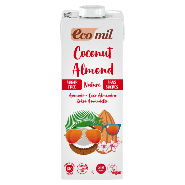EcoMil Bio Kokos-Mandel Drink Nature