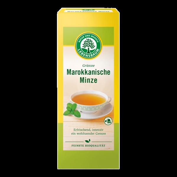 Lebensbaum Bio Grüntee Marokkanische Minze Tee