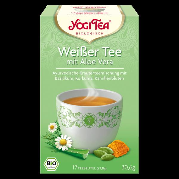 Yogi Tea Bio Weißer Tee mit Aloe Vera