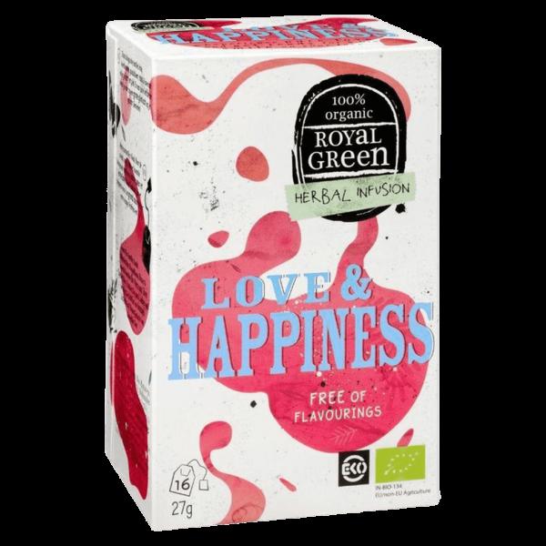 Royal Green Bio Love & Happiness Kräutertee