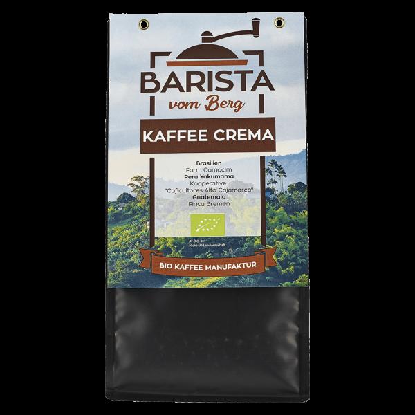 Barista vom Berg Bio Cafe Crema