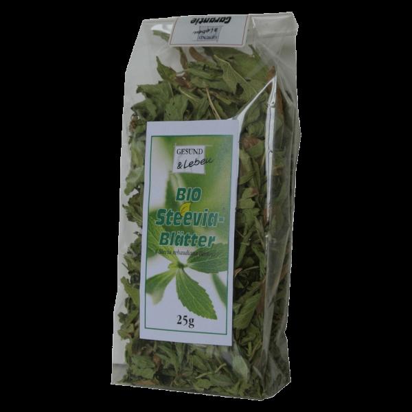 Gesund & Leben Bio Steevia-Blätter
