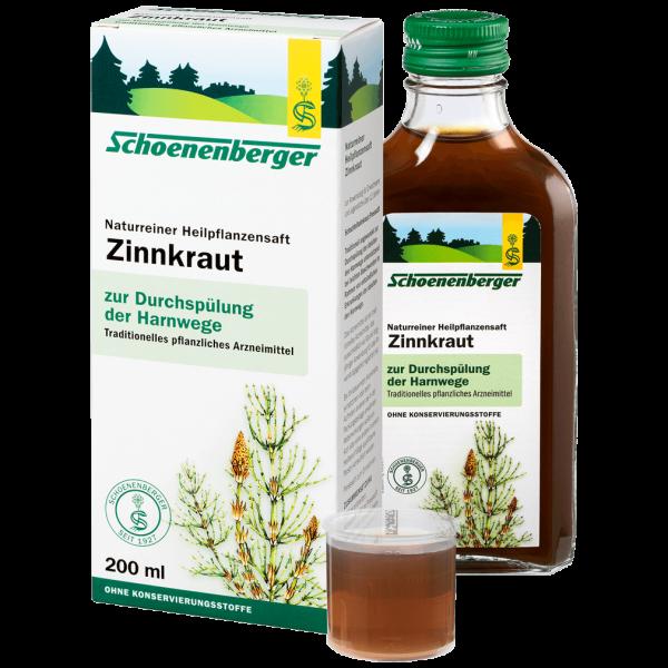 Bio Zinnkraut-Saft, 200ml